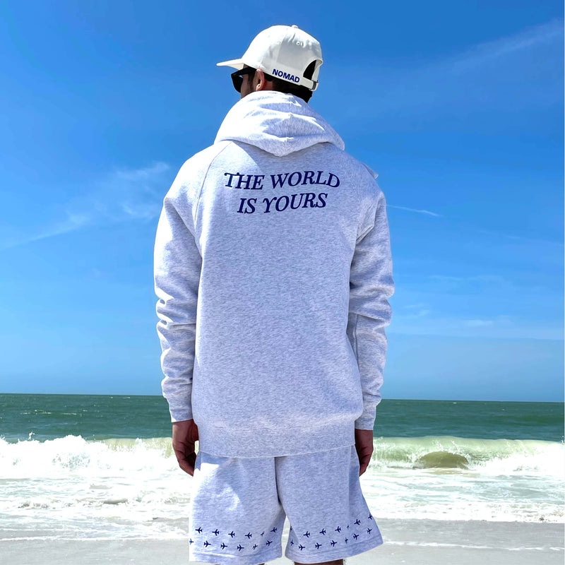 The World Is Yours Zip-Up Hoodie