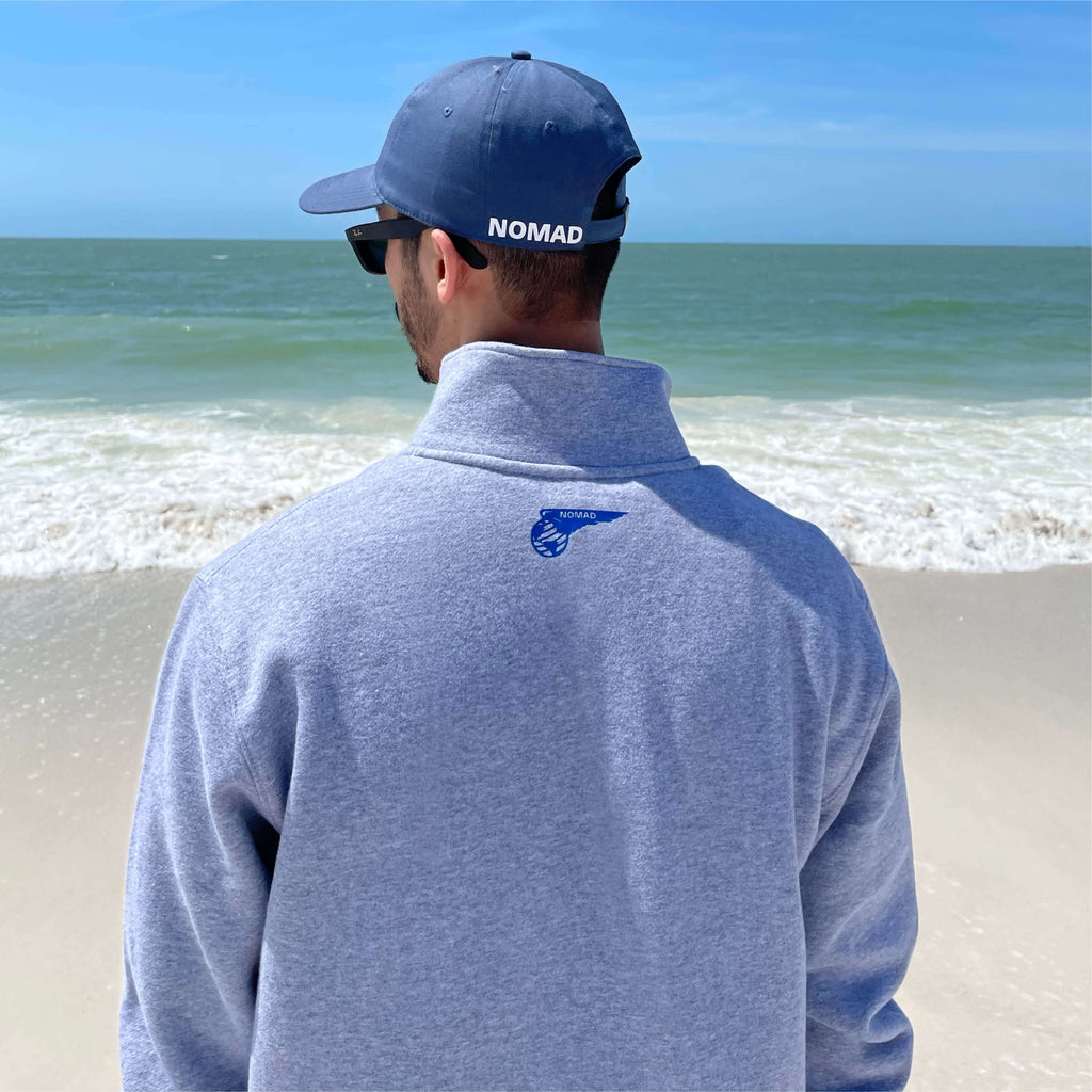Nomad Air Qtr Zip Pullover