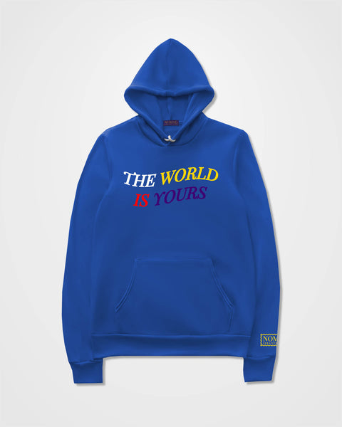 The World Is Yours Fleece Hoodie