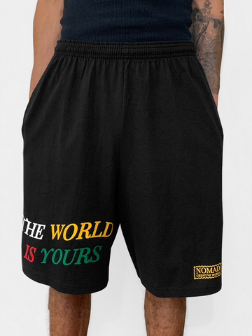 The World Is Yours Cotton Shorts