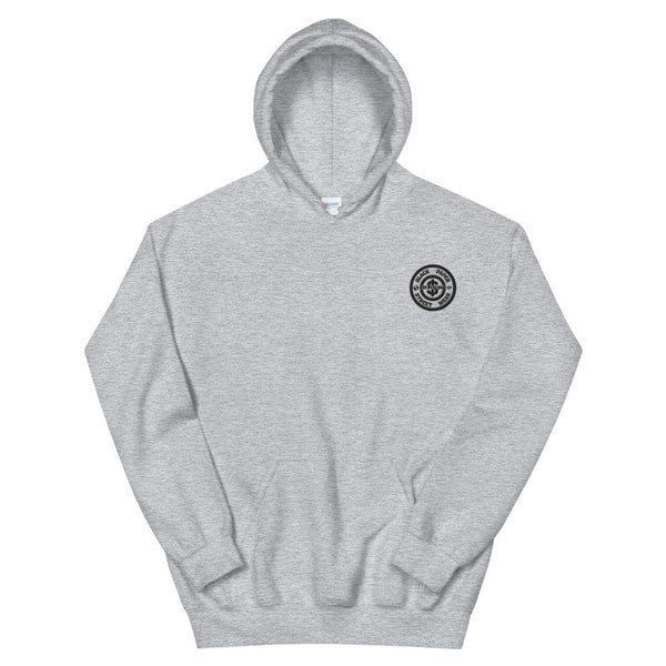 Hoodie - Embroidered Circle Logo
