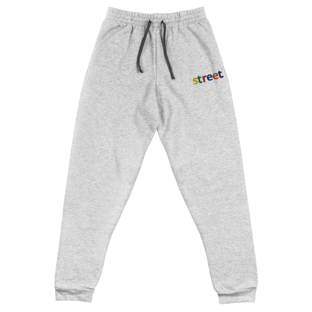 Joggers - STREET Embroidered