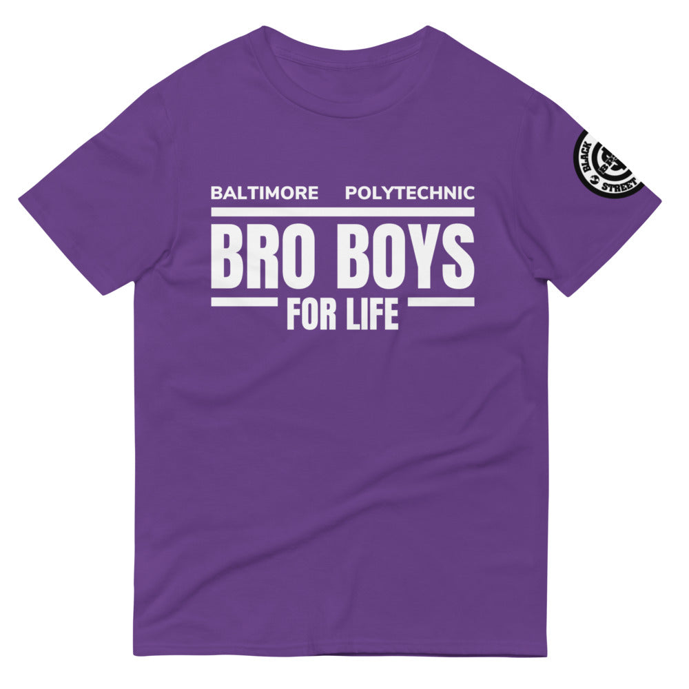 Black Paper - Bro Boys 4 Life (White)