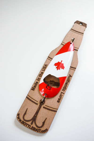 Canadian Flag-1oz Bottle Opener