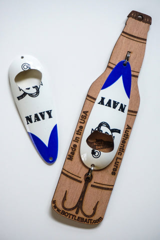 Navy-1oz Bottle Opener