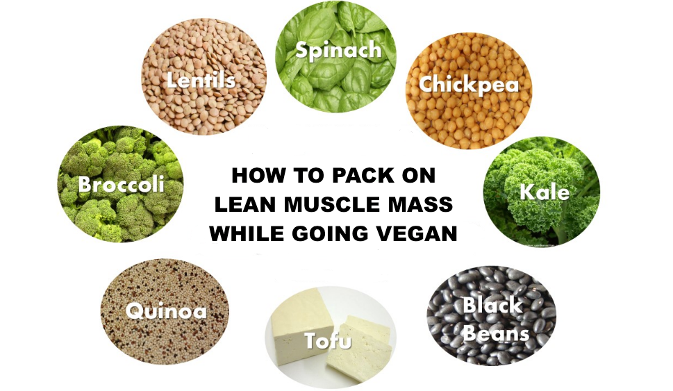 How to Pack on Lean Muscle Mass While Going Vegan