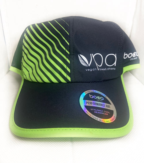 VPA Elite Boca Gear Hat Black with Green Trim