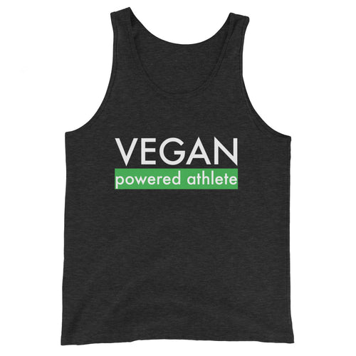 VEGAN powered athlete Tank Top - GREEN