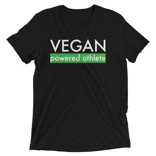 VEGAN powered athlete Short sleeve t-shirt - GREEN