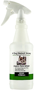All Natural Flea & Tick Spray Cedar
