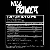 Iron Addicts - Will Power | 60 Capsules