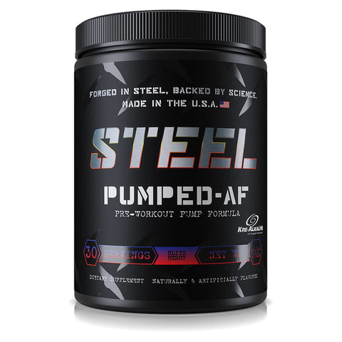 Steel Supplements Pumped AF