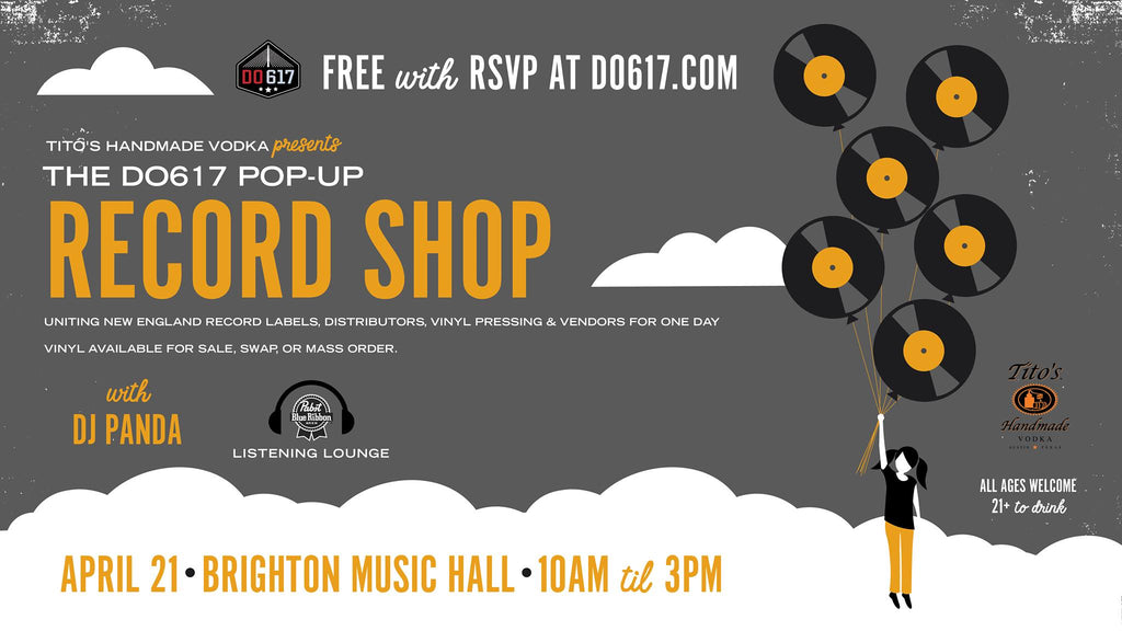 Record Store Day 2018 Pop Up Shop