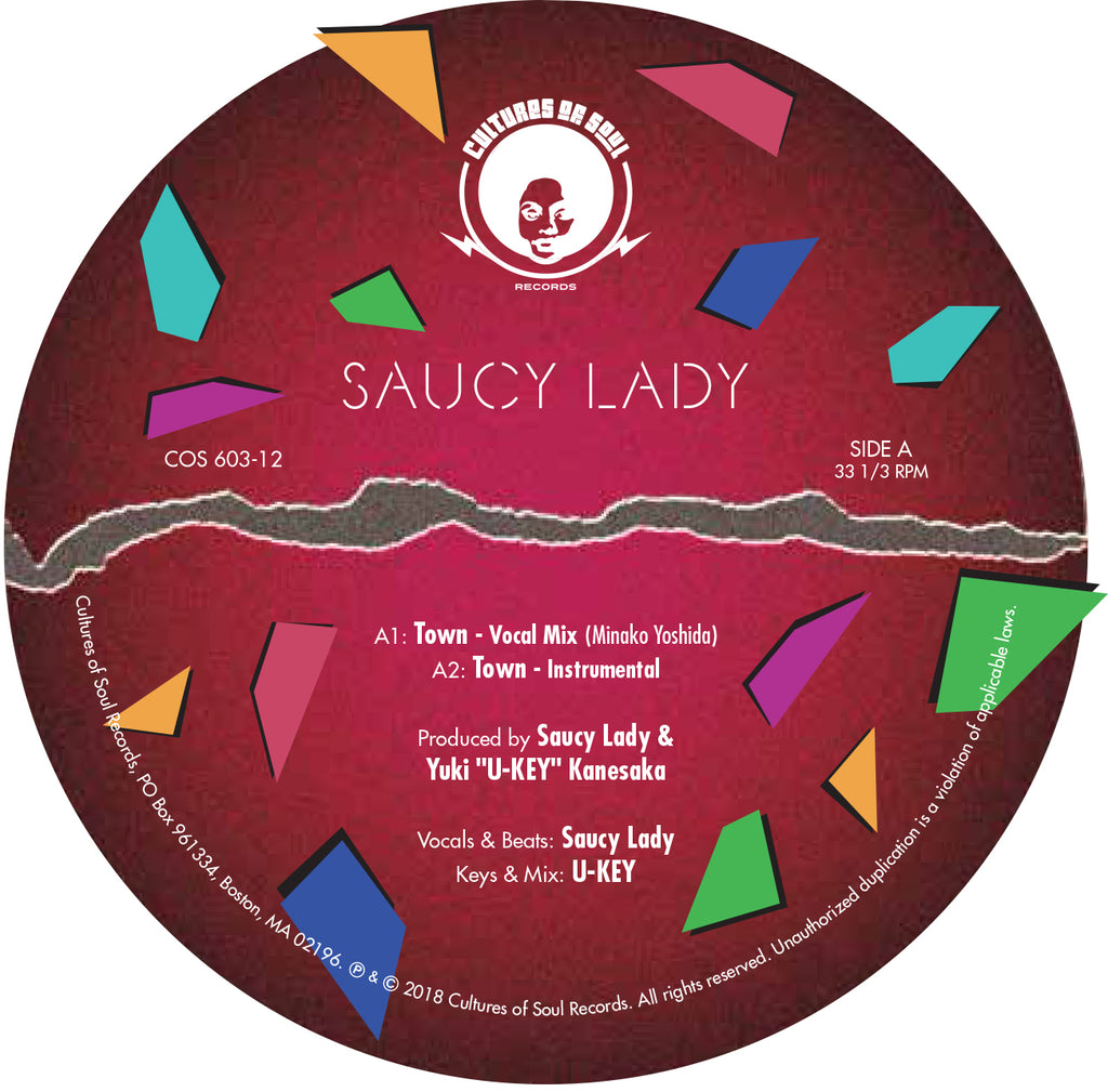 Saucy Lady - Town 12""