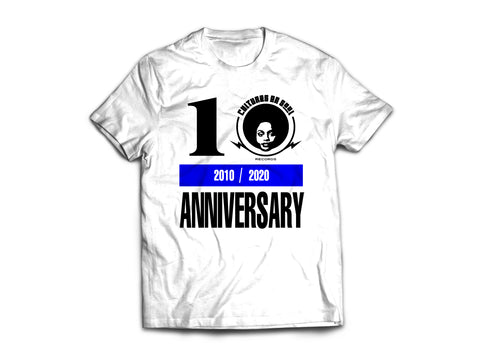10th Anniversary T-shirts