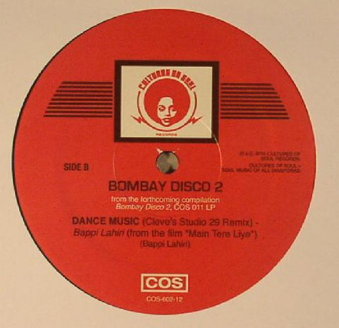 "Bombay Disco Volume 1 - 12"" Sampler"