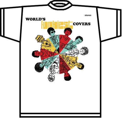World's Funkiest Covers T-shirt