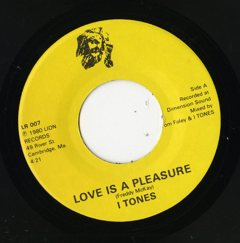I Tones - Love Is  Pleasure 45