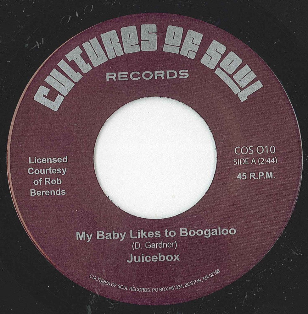 Juicebox - My Baby Likes to Boogaloo