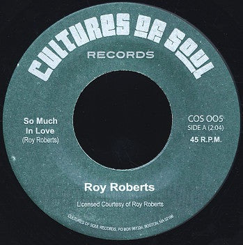 Roy Roberts - So Much In Love