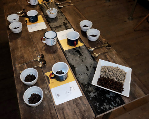 Roastery Demo and Cupping Evening 14-07-17