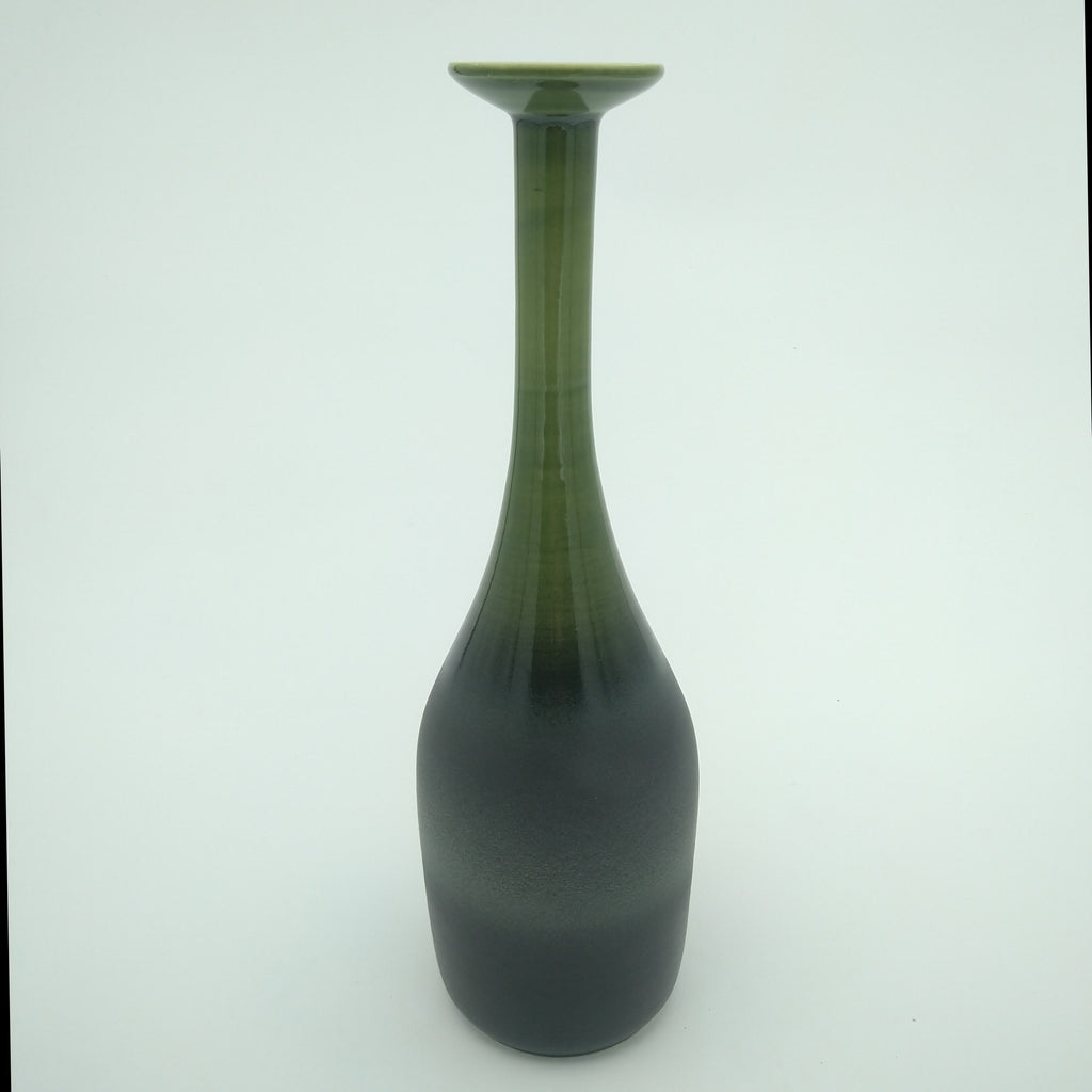 Green Neck Bottle