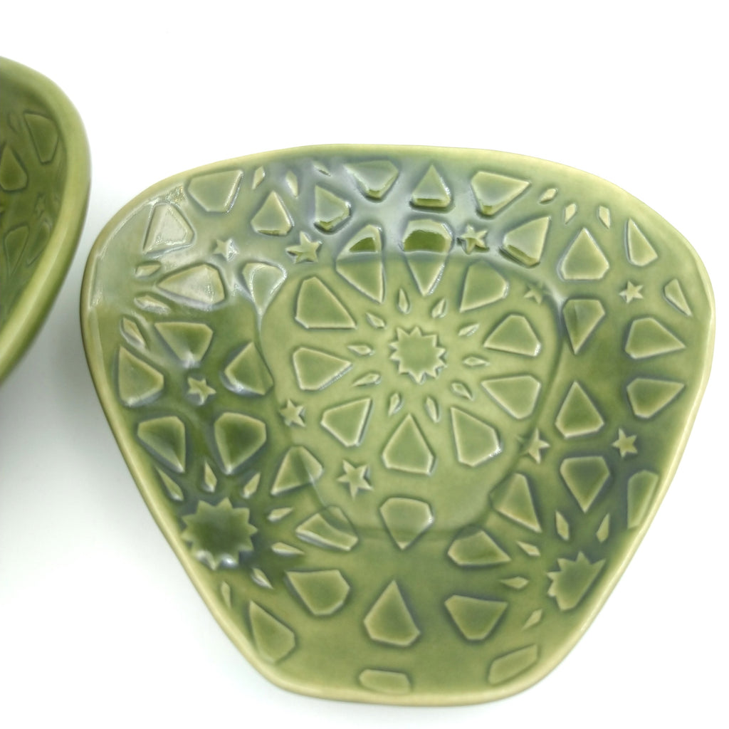 Patterned Snack Bowl And Dish