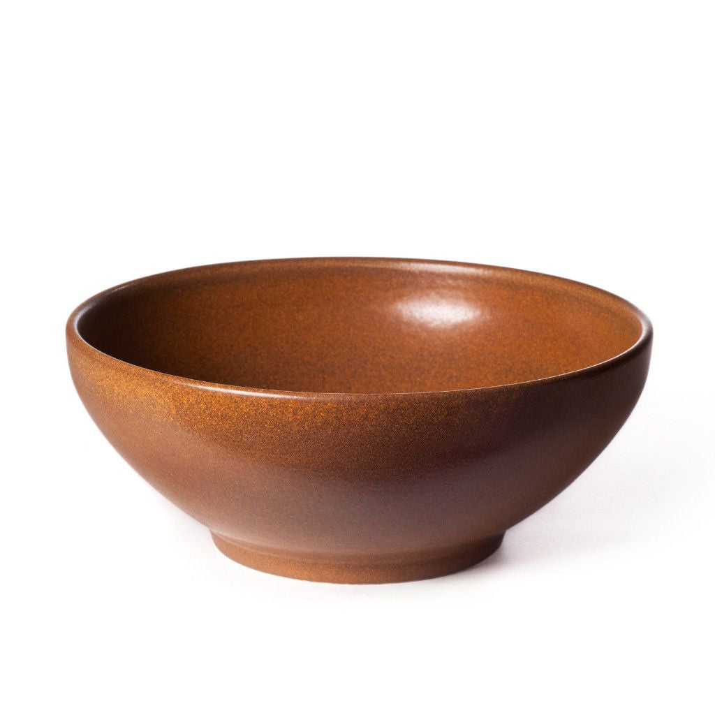Jack Bowl in Root Beer Brown