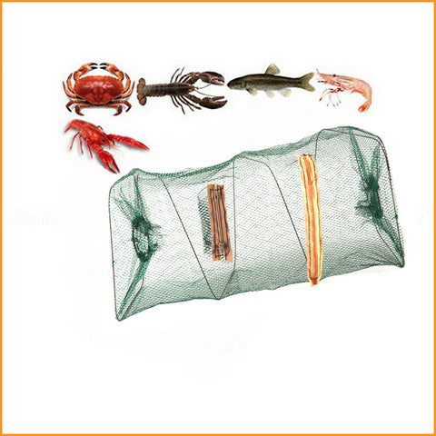 Foldable Fishing Net Bait Trap