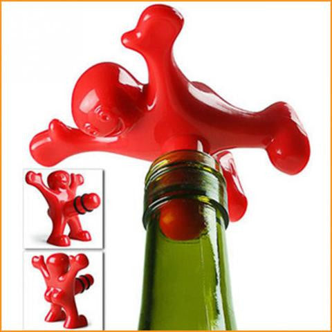 Happy Man Wine Stopper Free + Shipping