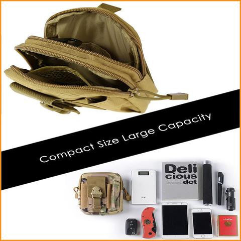 Tactical Military Waist Belt Bag Free + Shipping