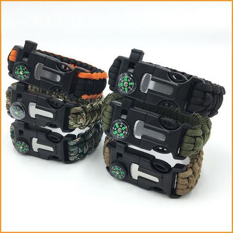 Paracord Survival Bracelet Free + Shipping