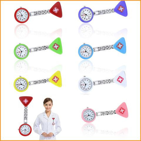 Red Cross Nurse Pocket Watch Free + Shipping