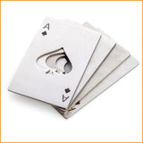 Poker Card Shape Beer Opener