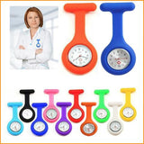 Silicone Nurse Fob Watch Free + Shipping