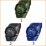 Canvas Military Sport Style Watch