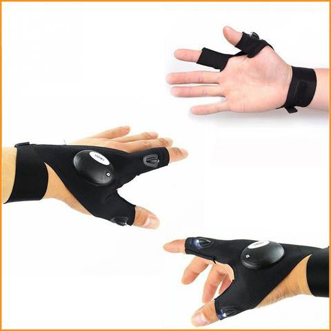 Multifunctional LED Flashlight Glove
