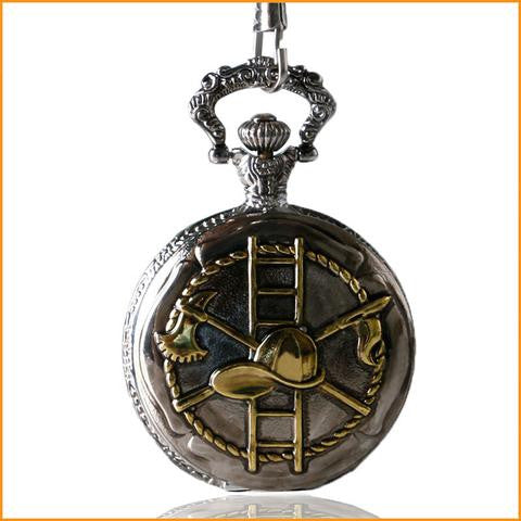 Firefighter Pocket Watch