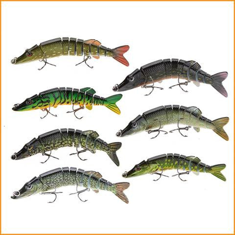 "5"" Lifelike Pike Fishing Lure Free + Shipping"