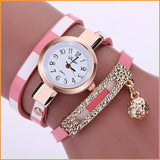 PU Leather Bracelet Watch Free + Shipping