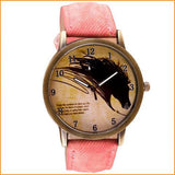 Vintage Horse Quartz Wrist Watch Free + Shipping