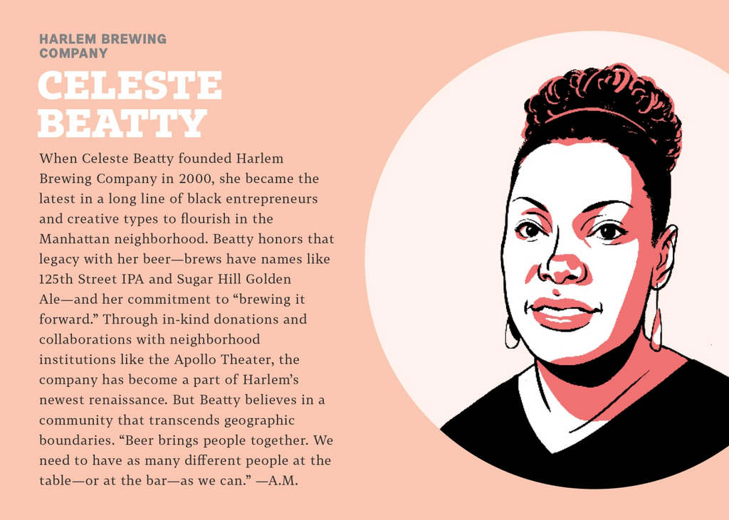 An infographic about Celete Beatty.