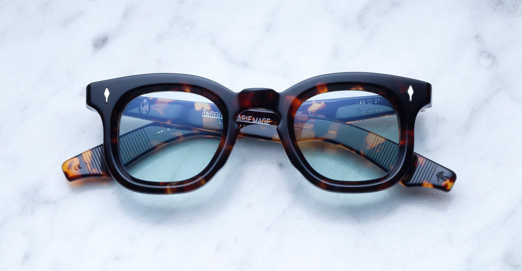 Jacques Marie Mage 'Loewy Lava' frames, $555