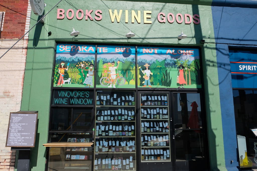 The Vinovore wine window