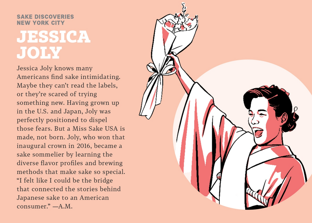 An infographic about Jessica Joly.