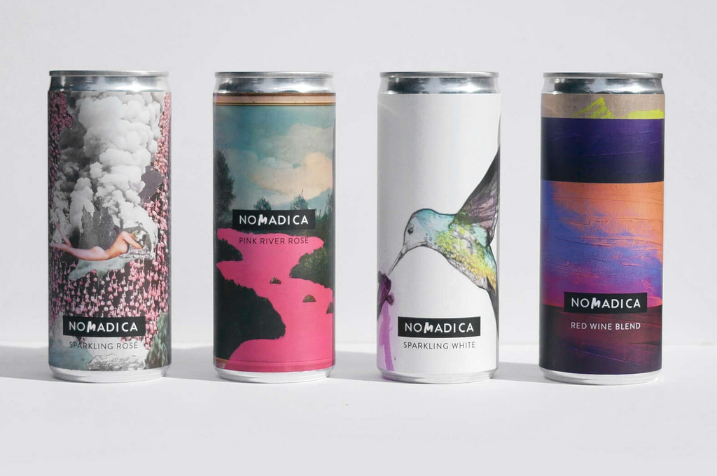 11 Women Changing SoCal's Wine Industry - cans of wine