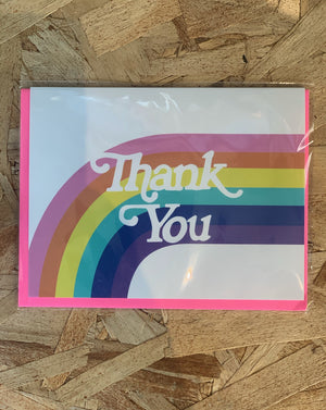 Thank You Rainbow Greeting Card