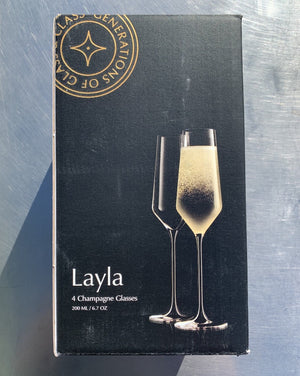 With beautiful glass cut, perfectly uniform rims and sophisticated lines, the JoyJolt Layla White Wine Glasses will certainly impress anyone! These are crafted with care in Czech Republic from premium quality, highly durable crystal. Dishwasher Safe.