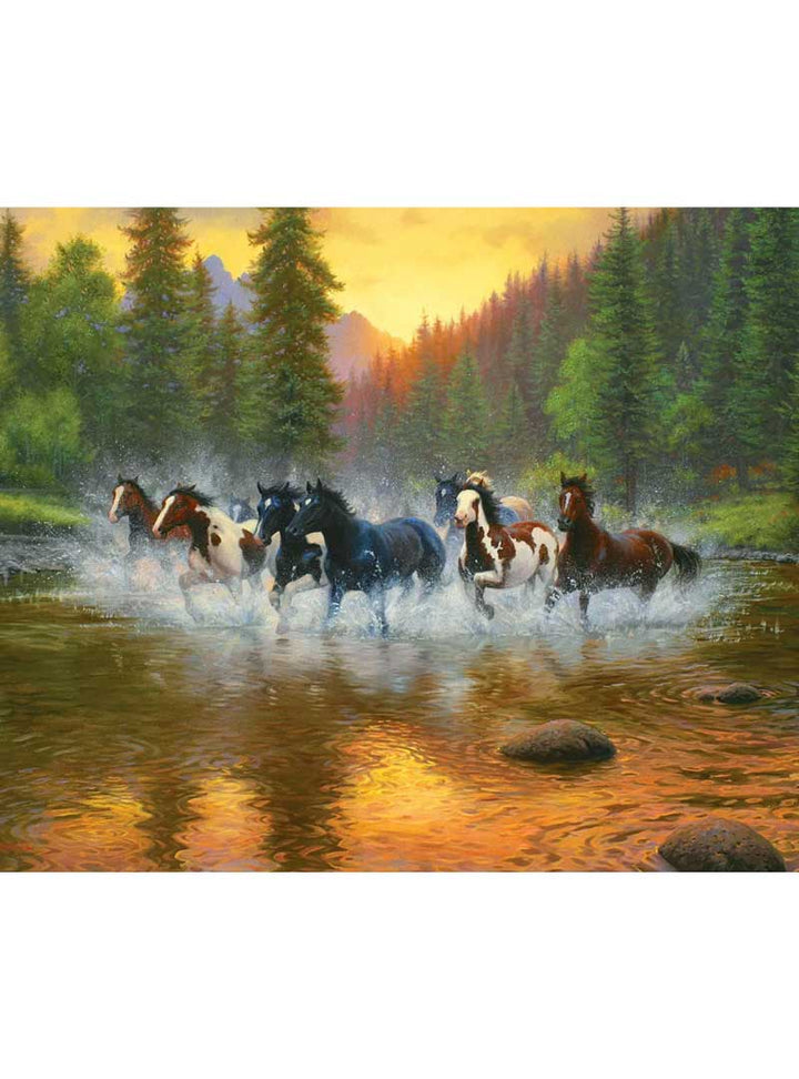 Horses in The River Puzzle