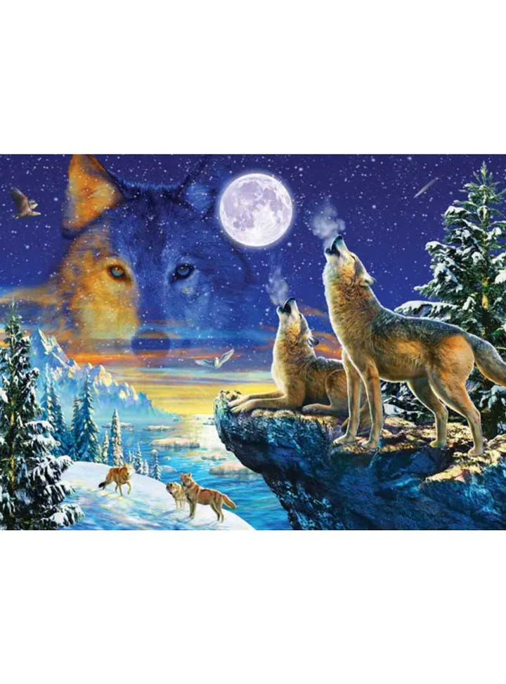 Howling Wolves Puzzle